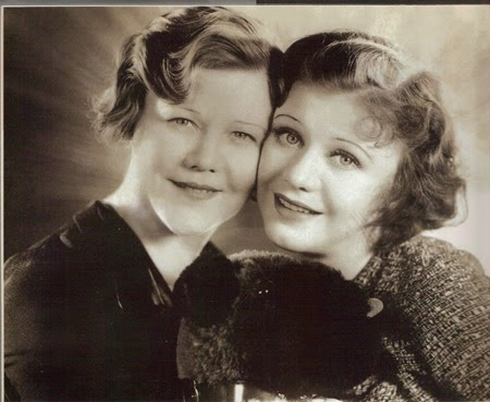 Ginger Rogers and mother