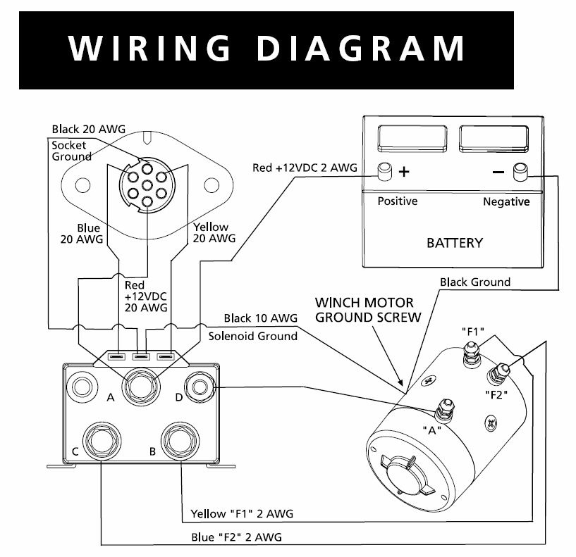 winch wiring diagram jeep tj