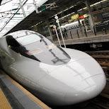 shinkansen at osaka station in Osaka, Osaka, Japan