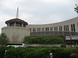 The front of the Country Music Hall of Fame in Nashville TN 09042011