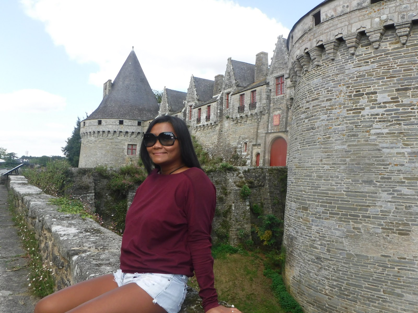 We Stumbled Upon The Castle Of Pontivy Just 25 Minutes From Laforge Brittany  Holiday Cottages Near Baud