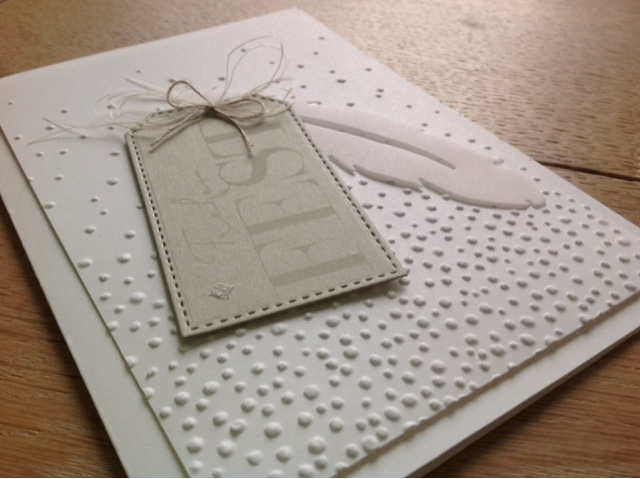 Stampin up Leise rieselt