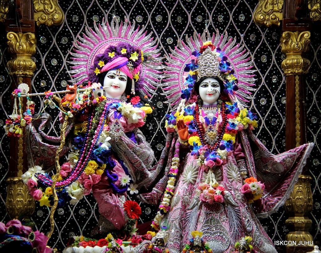 ISKCON Juhu Sringar Deity Darshan 20 Jan 16 (1)