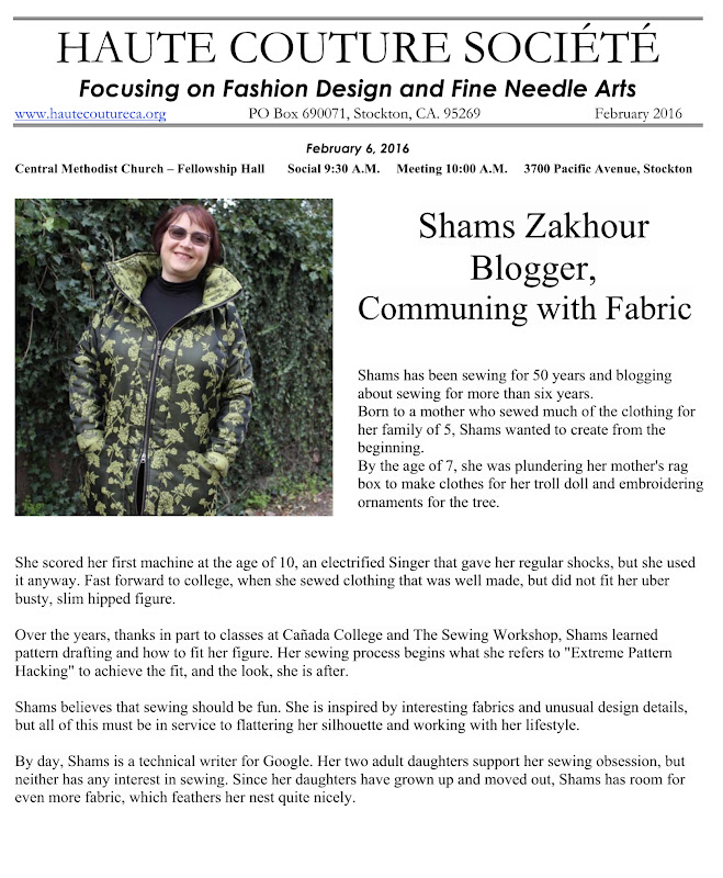 Communing with fabric haute couture societe for Haute couture members