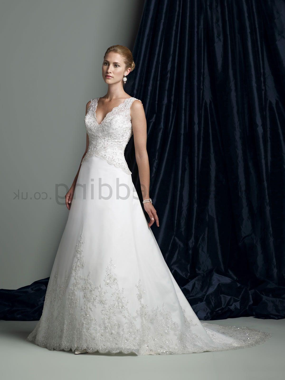 Dress. Organza A-line