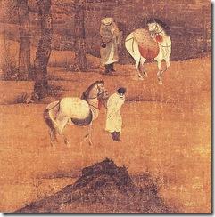 Two_horsemen_in_a_wintry_landscape,_by_Liang_Kai
