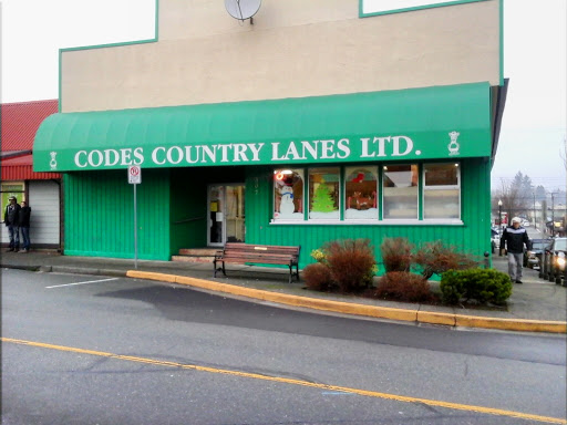 Codes Country Lanes Ltd, 307 6th St, Courtenay, BC V9N 1M2, Canada, Bowling Alley, state British Columbia