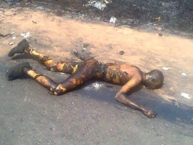 PHOTOS: Over 100 Die In Nnewi Gas Plant Explosion 20
