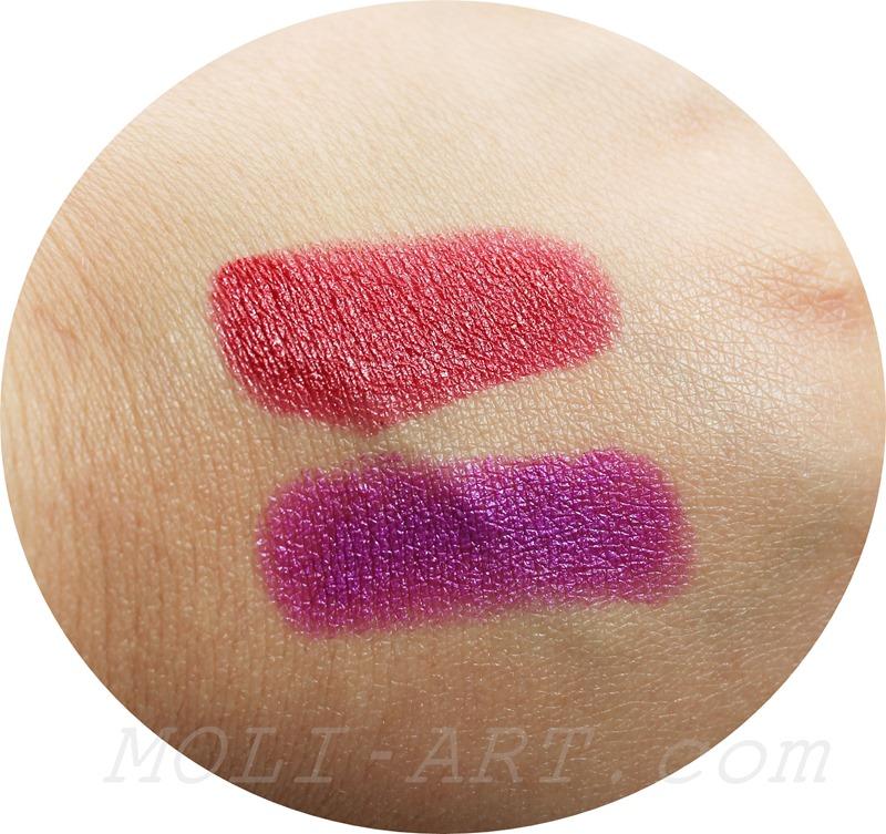 swatches-milani-lipstick-labiales-cherry-crave-violet-volt-2