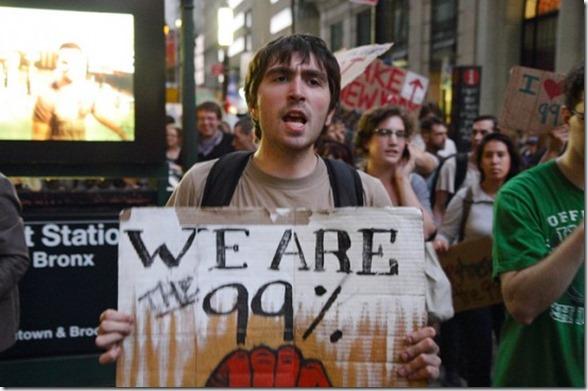 Nós somos 99 por cento