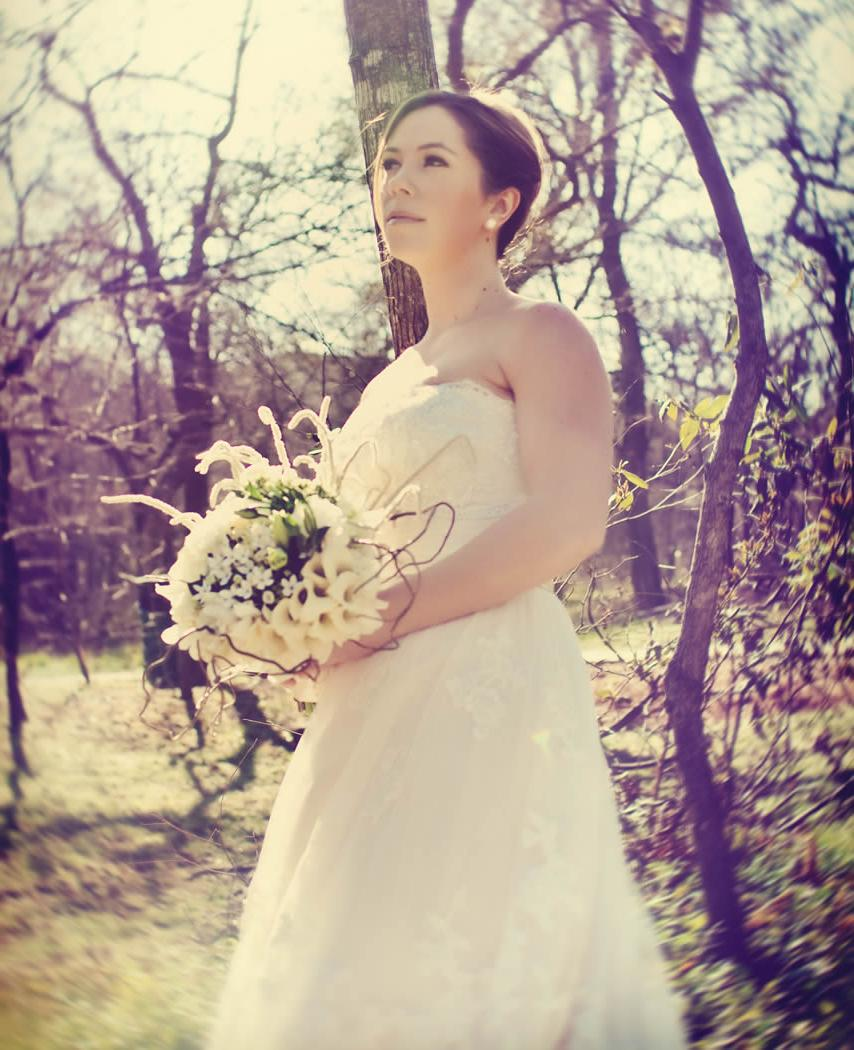 rustic bridal and cool,