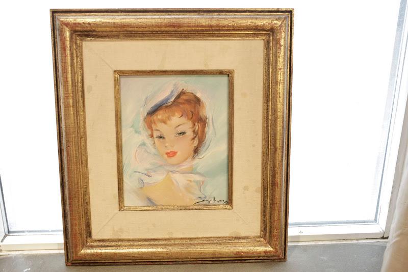 Jules Lempereur Painting 1 Redhead