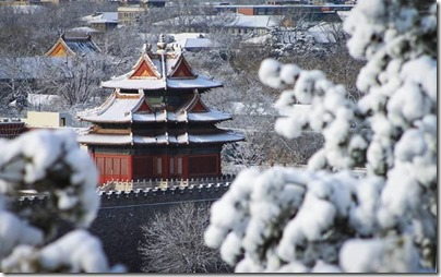 Forbiden City X Snow 紫禁城。雪 via Visit Beijing page on FB 01