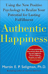 Cover of Martin Seligman's Book Authentic Happiness