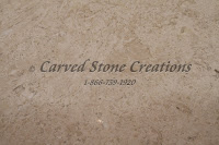 "24"" x 102"" x 2"" Light Oriental Travertine Slab Honed Filled Finish"