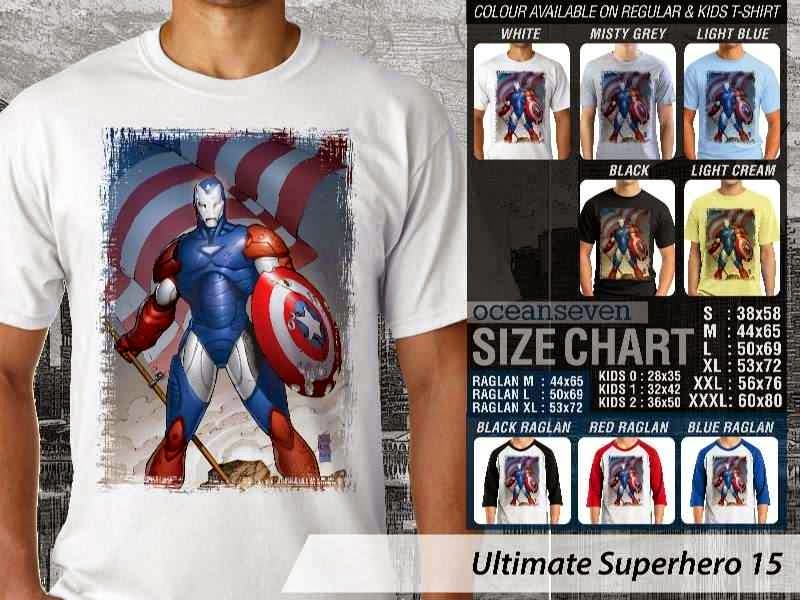 KAOS captain america 15 Ultimate Superhero distro ocean seven