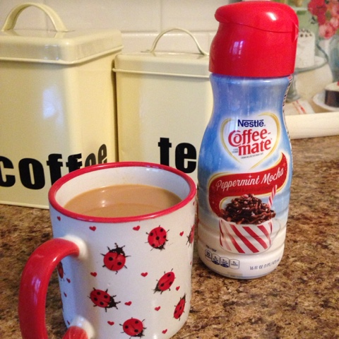 coffee mate peppermint mocha