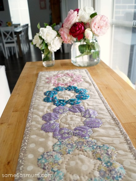 Four Octagons Table Runner