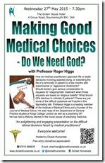 Making Good Medical Choices 27 May 2015
