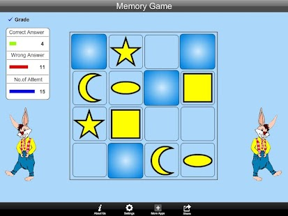 Memory Game Lite Version - screenshot