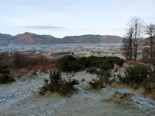 Western Fells on a frosty day