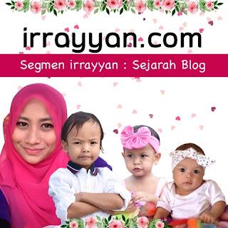Segmen irrayyan | Sejarah Blog