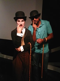 Me and Charlie Chaplin