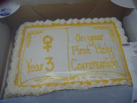 Year 3 Holy Communion Celebration - July 2015