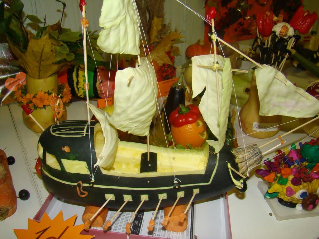 Выставка поделки из овощей и фруктов 14