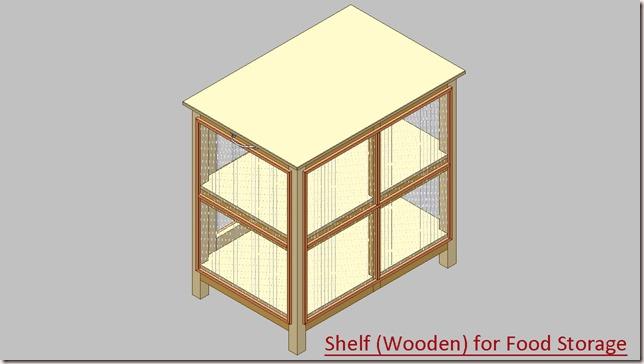 Shelf (Wooden) for Food Storage_3