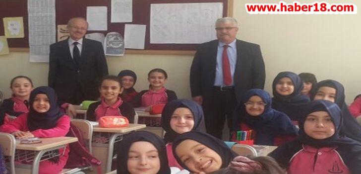 Milli Eğitim Müdürü Yazıcı Okul Ziyaretlerine Devam Ediyor