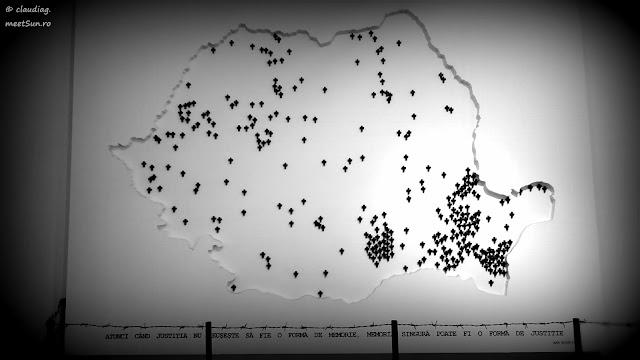harta inchisorilor