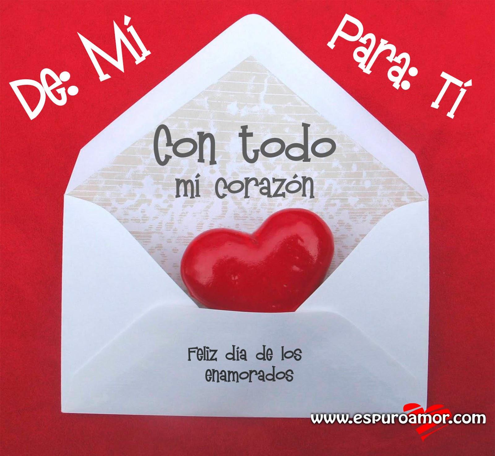 Imagenes con frases para San Valentin. Dia de los  - Imagenes Para El Dia De San Valentin Con Frases