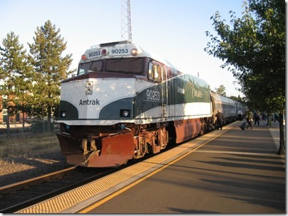 IMG_8426 Amtrak Cascades NPCU #90253 in Salem, Oregon on August 15, 2007