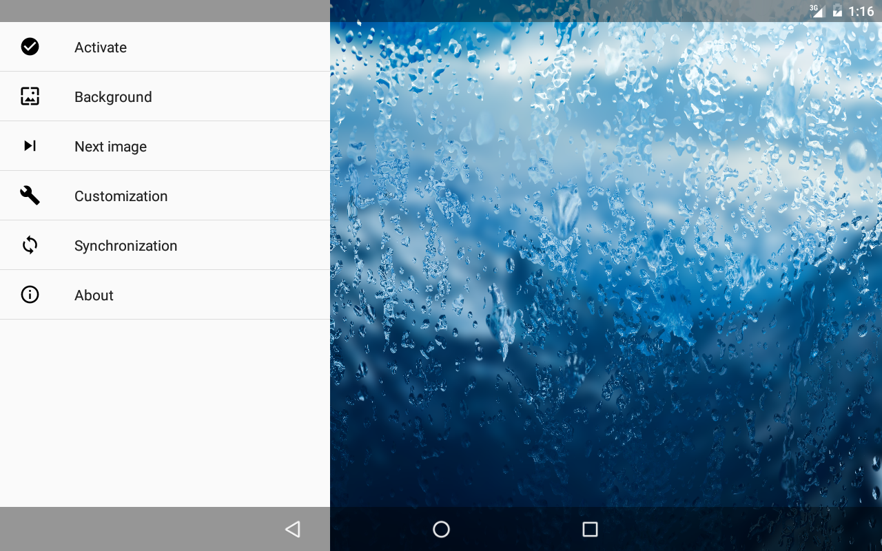 Rainpaper Screenshot 10