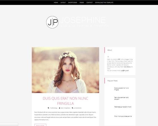 josephine-template