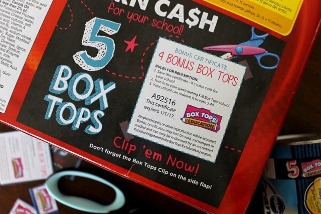 5 box tops