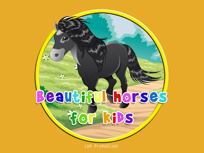 beautiful horses for Children - screenshot
