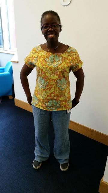 Poppybead blog - me in belcara blouse