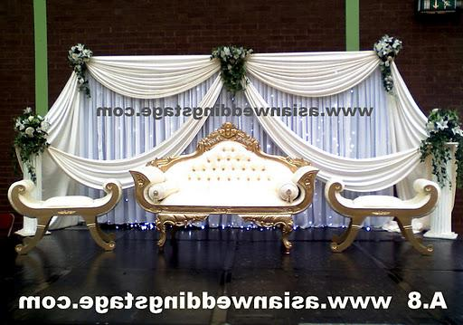 stages wedding decor