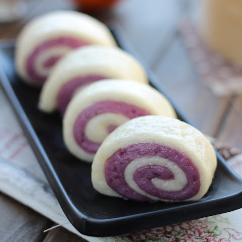Purple Sweet Potato Buns