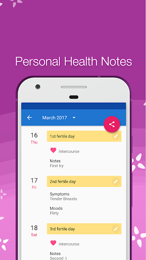 Period Tracker screenshot 3