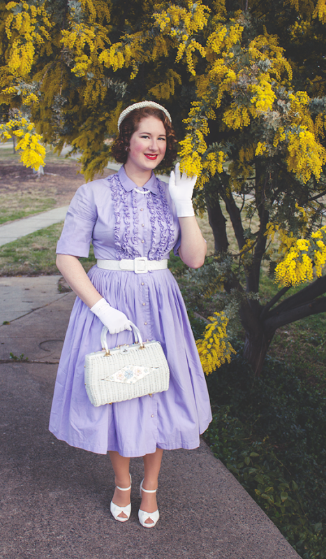 A quintessential 1950's vintage style | Lavender & Twill