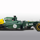 Caterham CT01 Renault right side