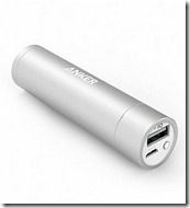 Anker Powercore 'lipstick' charger