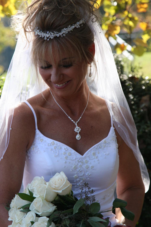 Crystal headpiece Wedding