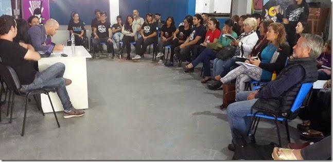 El encuentro tuvo lugar en las instalaciones del Centro Cultural San Bernardo