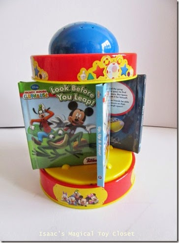 Mickey Mouse Rotating Night Light with Books