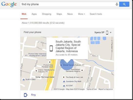 cara menemukan handphone android dalam mode silent