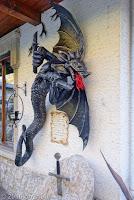 Metallkunst in Rocca Pietore.